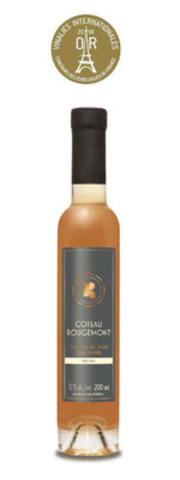 Gold medal - Vin de Glace Vidal 2011. (CNW Group/Vignoble Coteau Rougemont)