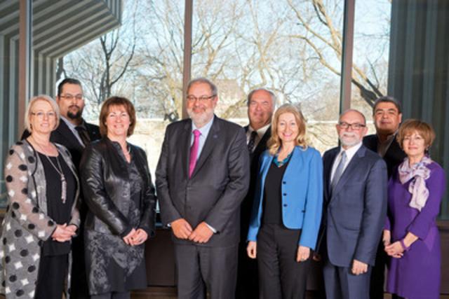 Le ministre Pierre Arcand souligne la première réunion du conseil d'administration de la Société du Plan Nord. (Groupe CNW/Cabinet du ministre de l'Énergie et des Ressources naturelles)