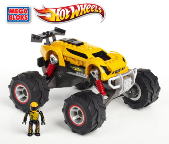 Mega Bloks Hot Wheels 2013 (Super Blitzen Monster Truck) (CNW Group/MEGA BRANDS INC.)