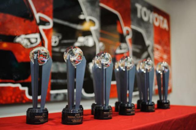 2015 meilleure valeur résiduelle au Canada d'ALG (Groupe CNW/Toyota Canada Inc.)