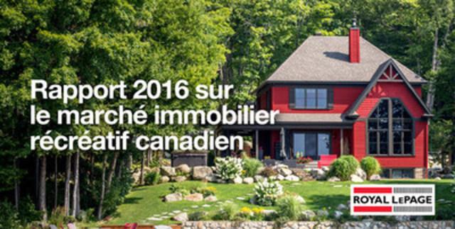 Les membres de la génération X font bondir la demande pour les propriétés récréatives (Groupe CNW/Services immobiliers Royal LePage)