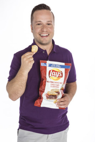 Inspired by Quebec: Montreal Smoked Meat on Lay's Original by Zdravko Gunjevic. (CNW Group/PepsiCo Canada)