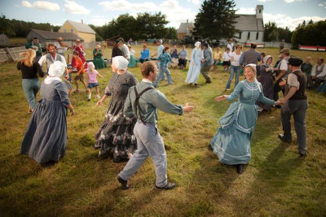 La vie au XIXe siècle au Nouveau-Brunswick. - Village historique de King's Landing (Groupe CNW/Canadian Tourism Commission)