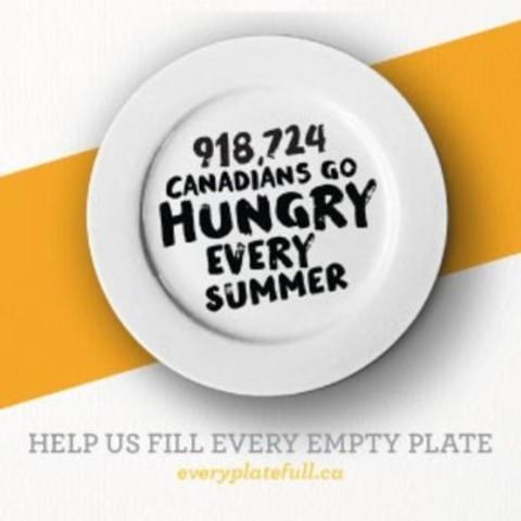 #EveryPlateFull (CNW Group/Food Banks Canada)