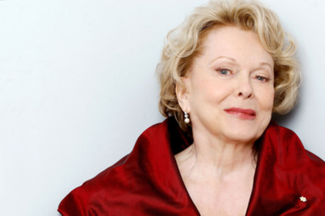 Shirley Douglas (photo by Tim Leyes) (CNW Group/ACTRA Toronto)