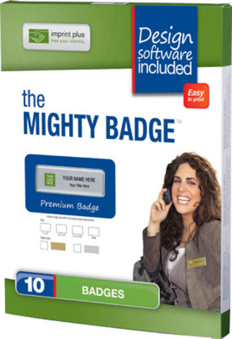 The Mighty Badge (CNW Group/Imprint Plus)