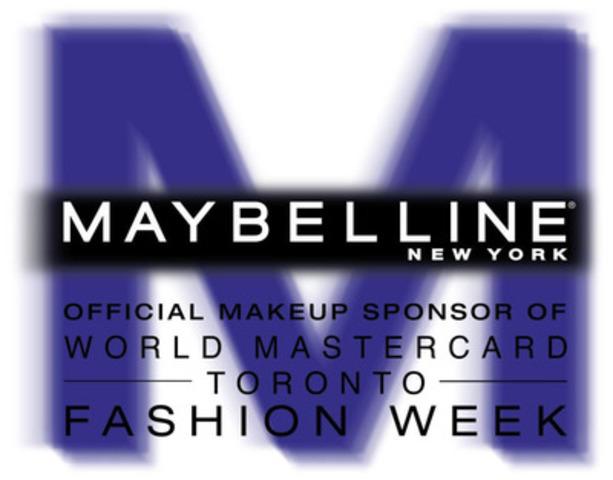 Logo Maybelline New York de la Semaine de mode World MasterCard (Groupe CNW/Maybelline New York)