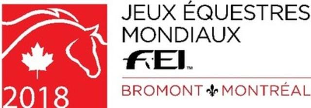 Bromont est à 1000 jours des Jeux Équestres Mondiaux FEI(TM) 2018 (Groupe CNW/Jeux Équestres Mondiaux FEI(TM) - Bromont 2018)