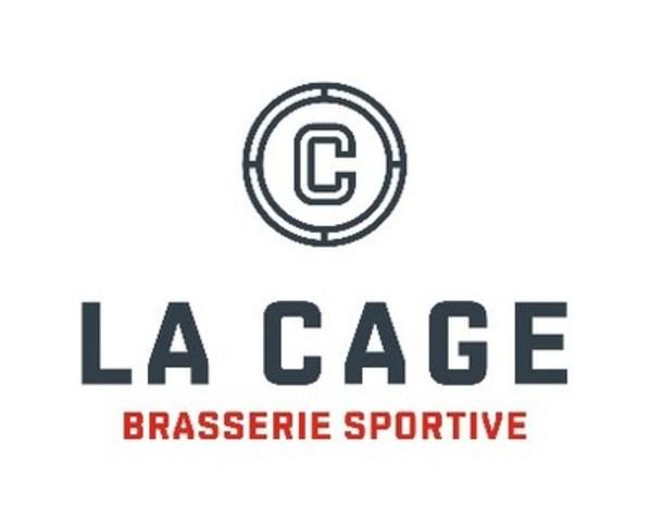 Logo : La Cage - Brasserie sportive (Groupe CNW/Le Groupe Sportscene inc)