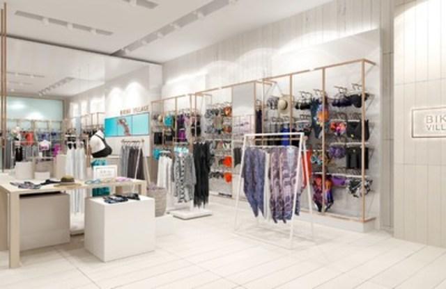 Bikini Village - Nouveau concept de boutique, section Femmes (Groupe CNW/Bikini Village)