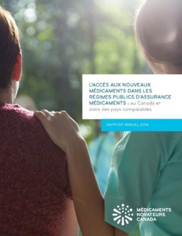 L''accès aux nouveaux médicaments dans les régimes publics d'assurance médicaments : au Canada et dans des pays comparables – Rapport annuel 2016 (Groupe CNW/Médicaments novateurs Canada)