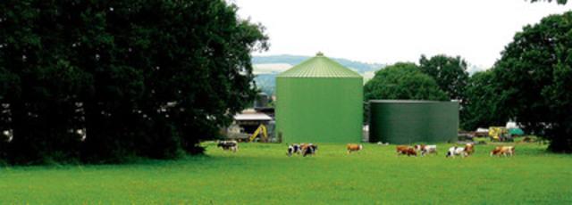 Bio-Méthatech construira, au printemps 2012, un premier projet clé en main de biométhanisation au Vermont. (Groupe CNW/BIO-MÉTHATECH)