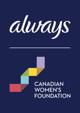 Always partners with The Canadian Women's Foundation (CNW Group/Procter & Gamble)