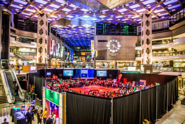 More than 270 healthcare and IT professionals gathered at the Complexe Desjardins from November 6 to 8 as part of the Innovation Challenge Health+Promotion. (CNW Group/Desjardins Group)