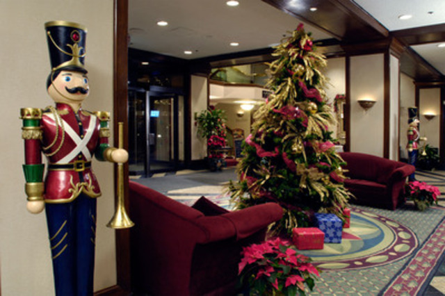 The festive season at the Delta Chelsea Hotel (CNW Group/Delta Chelsea Hotel)
