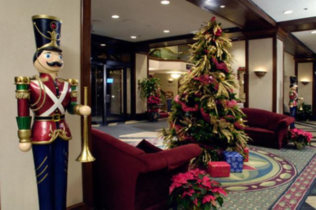 The festive season at the Delta Chelsea Hotel (CNW Group/Delta Chelsea Hotel)