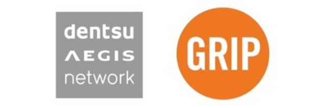 Logo : Dentsu Aegis Network, Grip Limited (Groupe CNW/Dentsu Aegis Network)