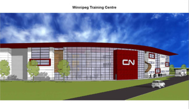 Winnipeg Training Centre (CNW Group/CN)