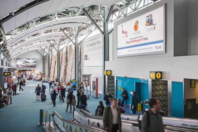 Aéroport international de Vancouver (Groupe CNW/Bell Média)