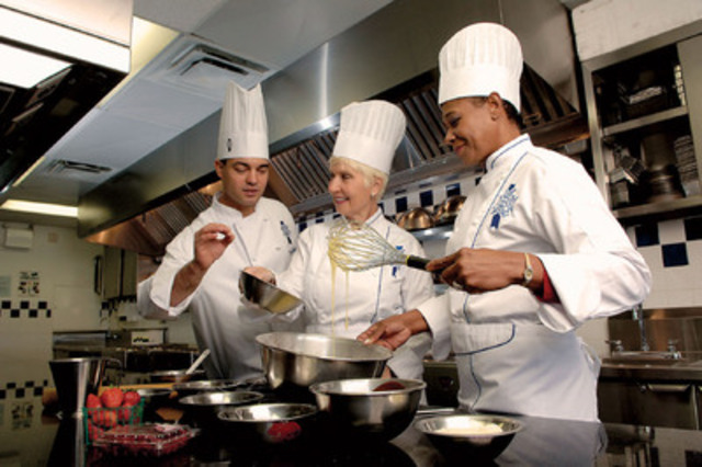Exploration des saveurs canadiennes dans un établissement culinaire unique. - Le Cordon Bleu International (Groupe CNW/Canadian Tourism Commission)