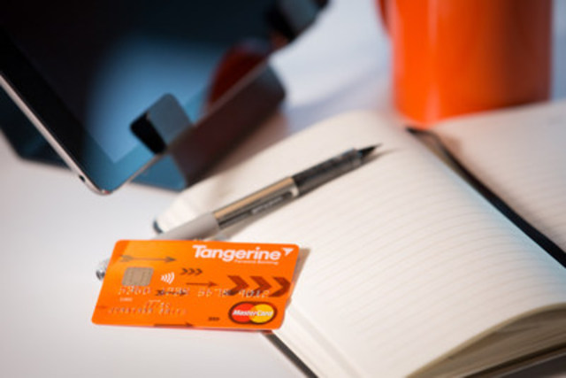 Today, Peter Aceto, president and CEO of Tangerine announced the details of Tangerine's revolutionary new Money-Back Credit Card, marking the bank's transition from a savings to everyday bank for Canadians. (CNW Group/Tangerine)