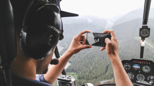 Daredevil photographer, Jayscale, takes the LG G4 smartphone to new heights in a cross-country photographic expedition. Select shots will be available for auction at LGG4Auction.com. (CNW Group/LG Electronics Canada)