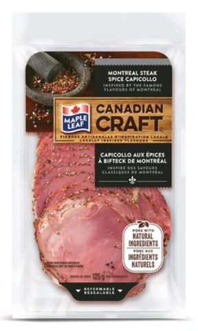 Montreal Steak Spice Capicollo (CNW Group/Maple Leaf Foods Inc.)