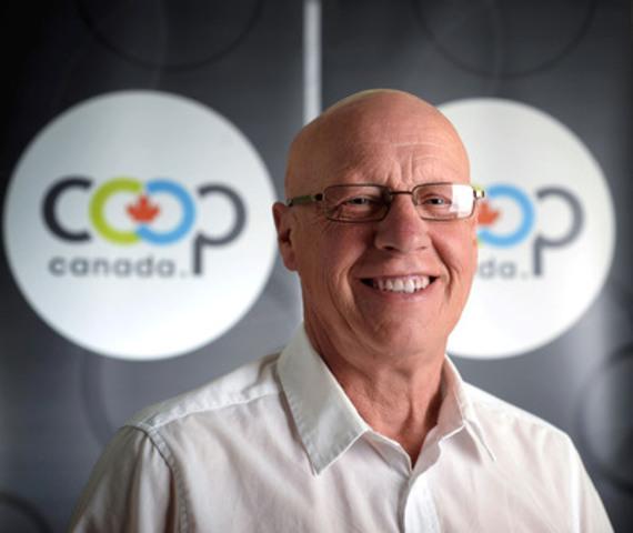 Jack Wilkinson elected President of Co-operatives and Mutuals Canada at the 2015 AGM (CNW Group/Co-operatives and Mutuals Canada)