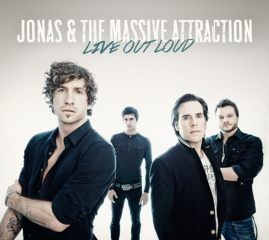 Nouvelle date de tournée au Québec pour le nouvel album de Jonas & The Massive Attraction Live Out Loud. (Groupe CNW/Bonomo Promotions)