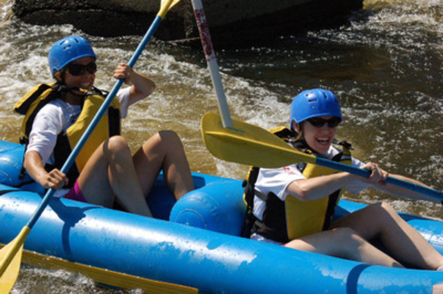 Raft through Ottawa and do more in 6 hours than most would all summer! (CNW Group/City Chase)
