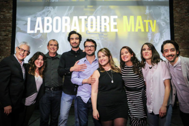 Sur la photo, de gauche à droite : Michel G. Desjardins, Manon Dumais, Richard Fournier, ...