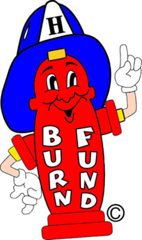 Harry the Hydrant reminds everyone to take measures and learn how to be safe from Burn & Scald Injuries during the annual Burn Awareness Week, January 31st - February 6th. (CNW Group/British Columbia Professional Fire Fighters Burn Fund)