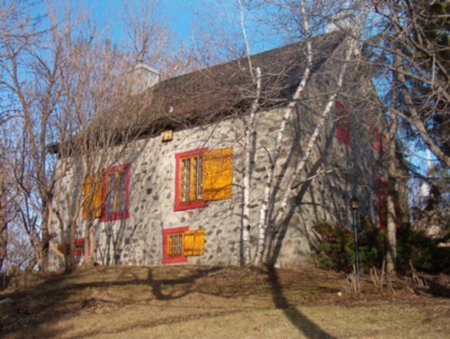La maison Andegrave, située sur le boulevard Gouin, fait partie du circuit des maisons patrimoniales de Montréal-Nord (Groupe CNW/Arrondissement de Montréal-Nord (Ville de Montréal))