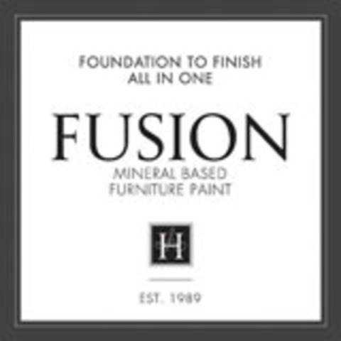 Logo: Fusion is new mineral based furniture paint. (CNW Group/Homestead House Paint Co. Inc)