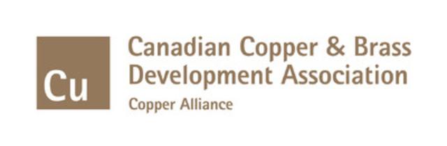 Le symbole graphique de la Canadian Copper & Brass Development Association (Groupe CNW/Canadian Copper & Brass Development Association)