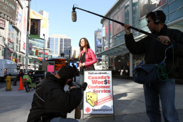 Erica Johnson of Marketplace Fridays at 8pm (830 pm NT) on CBC TV - on location (CNW Group/Canadian Broadcasting Corporation)