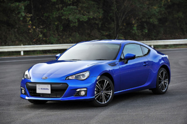 2013 Subaru BRZ. (CNW Group/Subaru Canada Inc.)