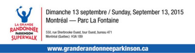 La Grande Randonnée Parkinson de Montréal (Groupe CNW/Parkinson Québec)
