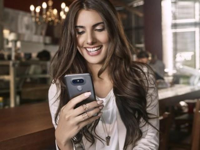 Le premier téléphone intelligent modulaire à faire son apparition sur le marché canadien (Groupe CNW/LG Electronics Canada)