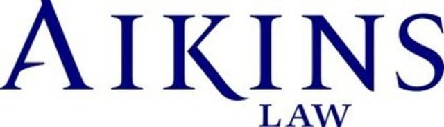 Aikins, MacAulay & Thorvaldson LLP (CNW Group/Aikins, MacAulay & Thorvaldson LLP (Aikins))