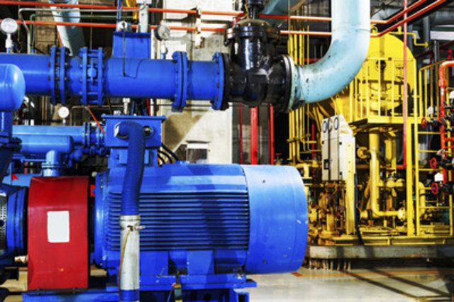 Toronto Hydro's PUMPsaver program provides incentives to business customers to install variable frequency drives to help pumps run more efficiently and manage energy consumption and costs. (CNW Group/Toronto Hydro Corporation)