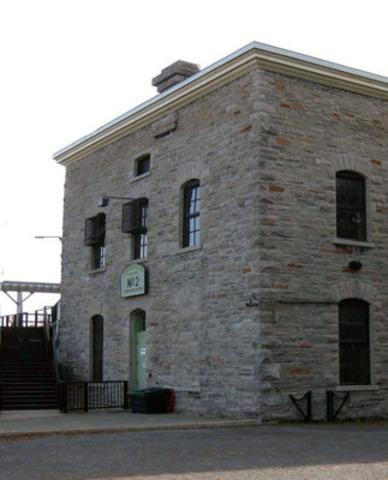 Centrale no 2 aux Chutes de la Chaudière (Groupe CNW/Société de portefeuille d'Hydro Ottawa inc.)