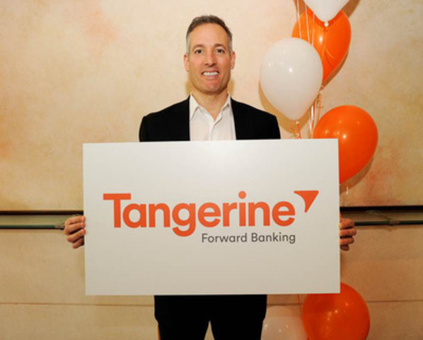 Peter Aceto, President & CEO, ING DIRECT, reveals the bank is changing its name to Tangerine in 2014. Thousands of Canadians were consulted in selecting the name, which represents the company's progressive approach to banking. This change is the result of ING Groep's 2012 sale of ING DIRECT to Scotiabank. (CNW Group/ING DIRECT)