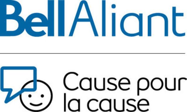 Logo: Bell Aliant Cause pour la cause (Groupe CNW/Sport universitaire de l'Atlantique (SUA))