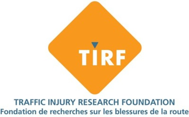 TIRF logo bilingual (CNW Group/Traffic Injury Research Foundation (TIRF))