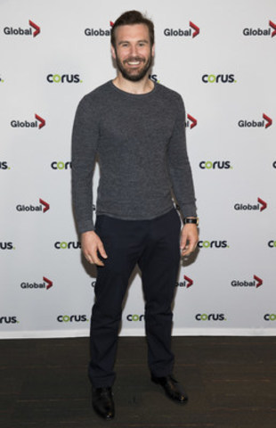 Vikings' Clive Standen in Toronto for the Corus Press Event on June 9, 2016. (CNW Group/Corus Entertainment Inc.)