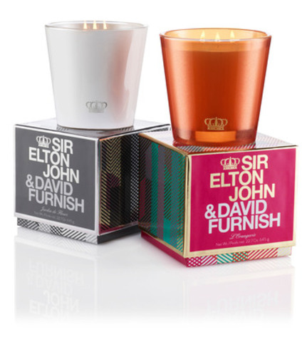 Holt Renfrew world-wide exclusive: Sir Elton John & David Furnish three-wick NEST candles, $50 (CNW Group/Holt Renfrew)