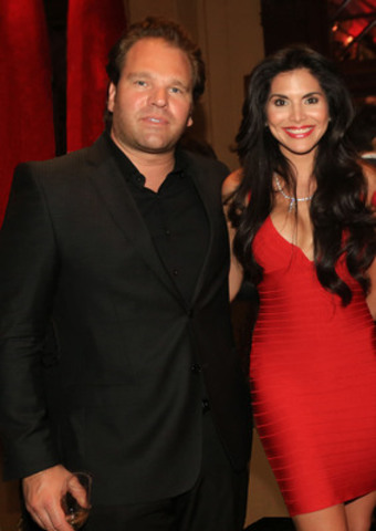 Michael Ohoven et Joyce Giraud (Groupe CNW/HOTEL LE ST-JAMES MONTREAL)