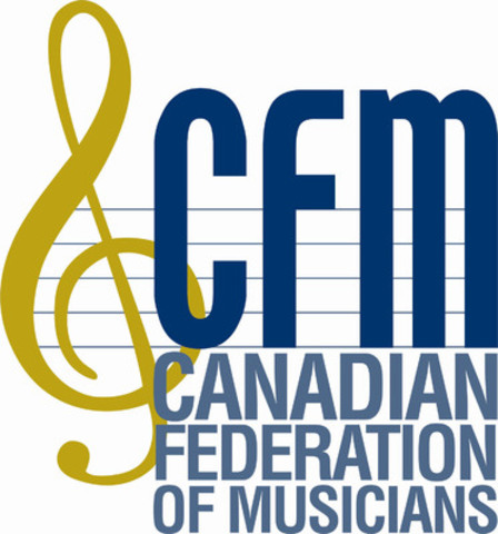 CFM - Canadian Federation of Musicians Logo (CNW Group/American Federation of Musicians)
