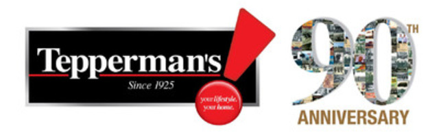 Tepperman's Celebrates 90 years with New Scholarships and Bursaries (CNW Group/Tepperman's)